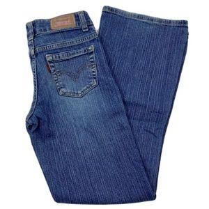 Levi's 517 Stretch Flare Denim Jeans